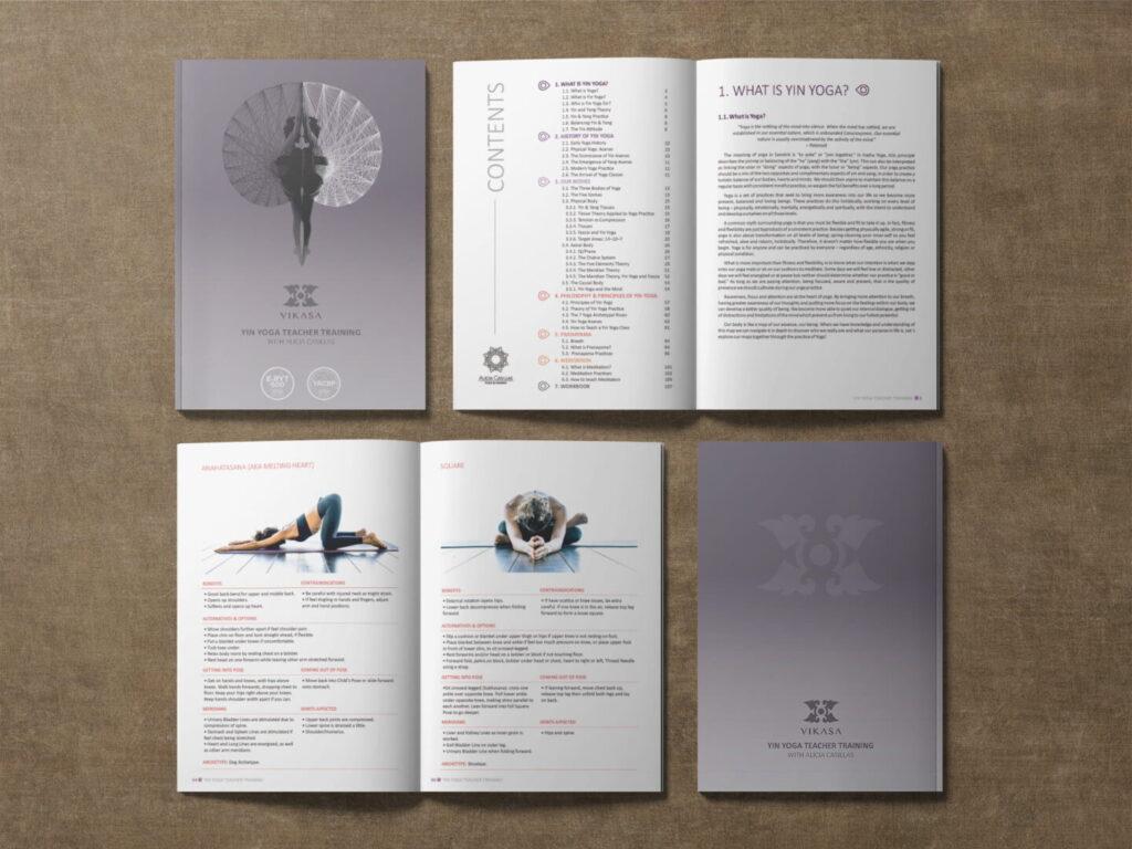 Diseño manual Yoga - Alicia Casillas