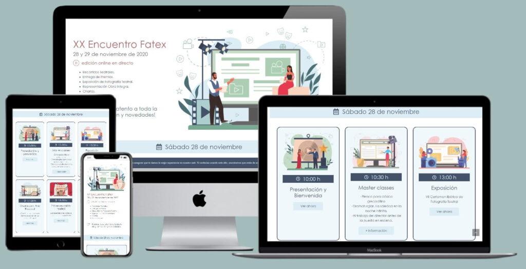 Página web Encuentro Fatex